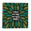 Brayden Studio If Mama Ain't Happy Artprint by Cat Coquillette Graphic Art on Wrapped Canvas in Black and Green