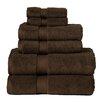 Bath 6 Piece Towel Set