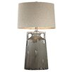 """Wade Logan Reaction Urn 30"""" H Table Lamp with Drum Shade"""