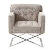 Wade Logan Chilton Lounge Chair in Gray