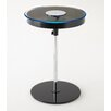 Corrigan Studio Charo Round End Table with LED Light