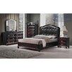 BestMasterFurniture Tiffany Panel 6 Piece Bedroom Set