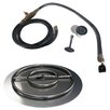 Arctic Flame Stainless Steel Ring Burner Fire Pit Kit