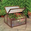Gardman Large Wooden 2.11 Ft. x 2.7 Ft. Cold Frame Greenhouse