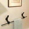 "Railroadware 20"" Wall Mount Anchor Towel Bar"