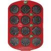 Wilton Non-Stick 12 Cavity Snowflakes Cookie Pan