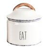 """Mr. Food Test Kitchen Farmhouse """"Eat"""" Canister"""