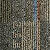 "Beaulieu Hollytex Modular En Route 24"" x 24"" Carpet Tile in Traffic Jam"