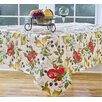 """Elrene Home Fashions Everyday Fruits 70"""" Round Vinyl Tablecloth"""