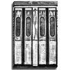 Bashian Home Subway Doors BW by Lisa Russo Photographic Print on Canvas