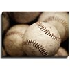 Bashian Home Well Worn baseball by Lisa Russo Photographic Print on Wrapped Canvas