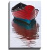 Bashian Home White Dory by Katherine Gendreau Photographic Print on Wrapped Canvas