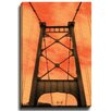 Bashian Home Sky Bridge by Dean Penn Photographic Print on Gallery Wrapped Canvas