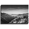 Bashian Home Blue Ridge BW by Terri Ellis Photographic Print on Wrapped Canvas