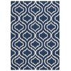 Nourison Linear Navy Area Rug