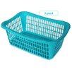 YBM Home Plastic Storage Basket (Set of 3)