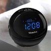 Westclox Clocks Round Bluetooth and Radio Alarm Clock