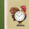 Westclox Clocks Rooster Wall Clock