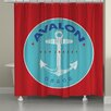 Laural Home Avalon Shower Curtain