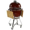 "All-Pro KAMADO 15"" Charcoal Grill with Cart"