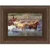Hadley House Co Forging The Cheyenne by Sherry Blanchard Stuart Framed Painting Print