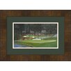 Hadley House Co Augusta at The 11th Hole Framed Painting Print
