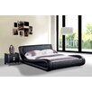 Container Dona Faux Leather Modern Bed