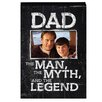 Prinz More Than Words 'Dad, Man, Myth' Photo Plaque Picture Frame