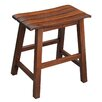 "International Concepts Slat Seat 18.25"" Bar Stool"