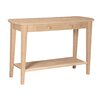 International Concepts Unfinished Philips Console Table
