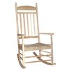 International Concepts Solid Wood Porch with Turned Post Rocking Chair