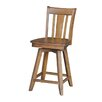 "International Concepts San Remo 24"" Swivel Bar Stool"