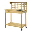 August Grove Newdale Potting Bench
