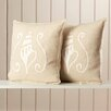 Beachcrest Home Samoset Cotton Scatter Cushion (Set of 2)