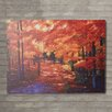 "Loon Peak ""Magical Forest"" by David Lloyd Glover Painting Print on Canvas"