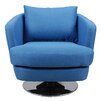 Trent Austin Design Penny Fabric Swivel Club Chair