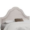 House of Hampton Mystere Inset Nail Button Arch Headboard