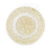 """Linen Tablecloth Baroque 13"""" Charger Plate (Set of 40)"""