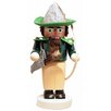 Pinnacle Peak Trading Co Steinbach Signed Chubby Robin Hood with Bow German Wooden Christmas Nutcracker