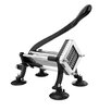 New Star Foodservice Commercial Grade French Fry Cutter with Suction Feet