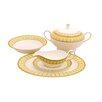Shinepukur Ceramics USA, Inc. Discovery Bone China Special Serving 5 Piece Dinnerware Set