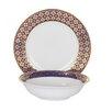 Shinepukur Ceramics USA, Inc. Jublee Fine China 24 Piece Completer Set
