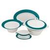 Shinepukur Ceramics USA, Inc. Valley Fine China Special Serving 5 Piece Dinnerware Set