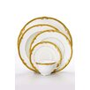 Shinepukur Ceramics USA, Inc. Ivy Bone China 5 Piece Place Setting (Set of 4)