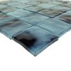 """Abolos Waterfall 2"""" x 2"""" Glass Mosaic Tile in Sky Blue"""