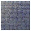 "Abolos Ecologic 0.38"" x 0.38"" Glass Mosaic Tile in Violet"