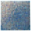 """Abolos Ecologic 0.38"""" x 0.38"""" Glass Mosaic Tile in Blue"""