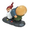 Big Mouth Toys Solar Mooning Gnome Statue