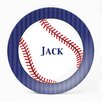 "Milo Gift Shop Baseball 10"" Personalized Plate"