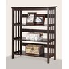 "Roundhill Furniture Aix 35.75"" Standard Bookcase"